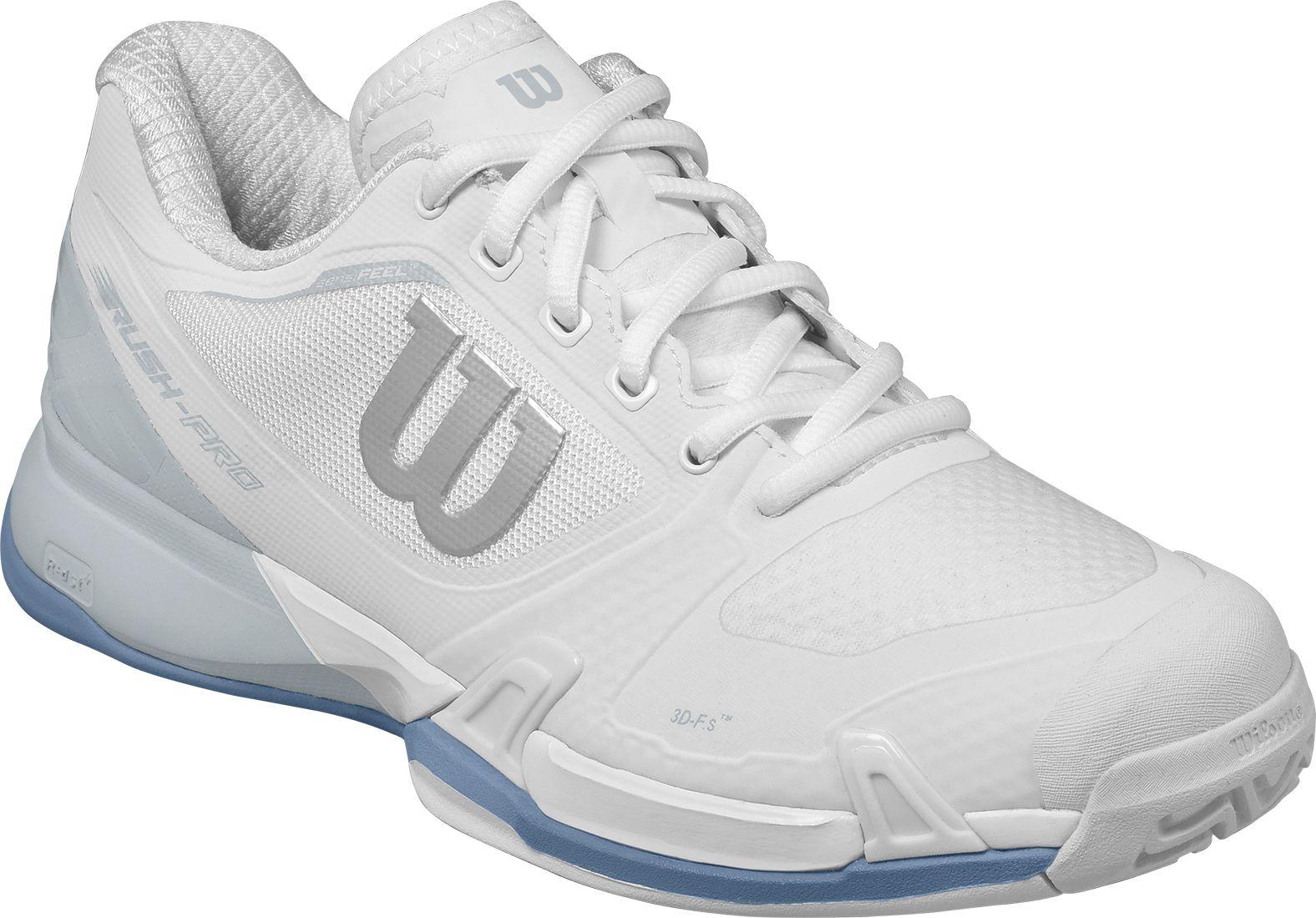 wilson womenu0027s rush pro 2.5 tennis shoes wctfqbu