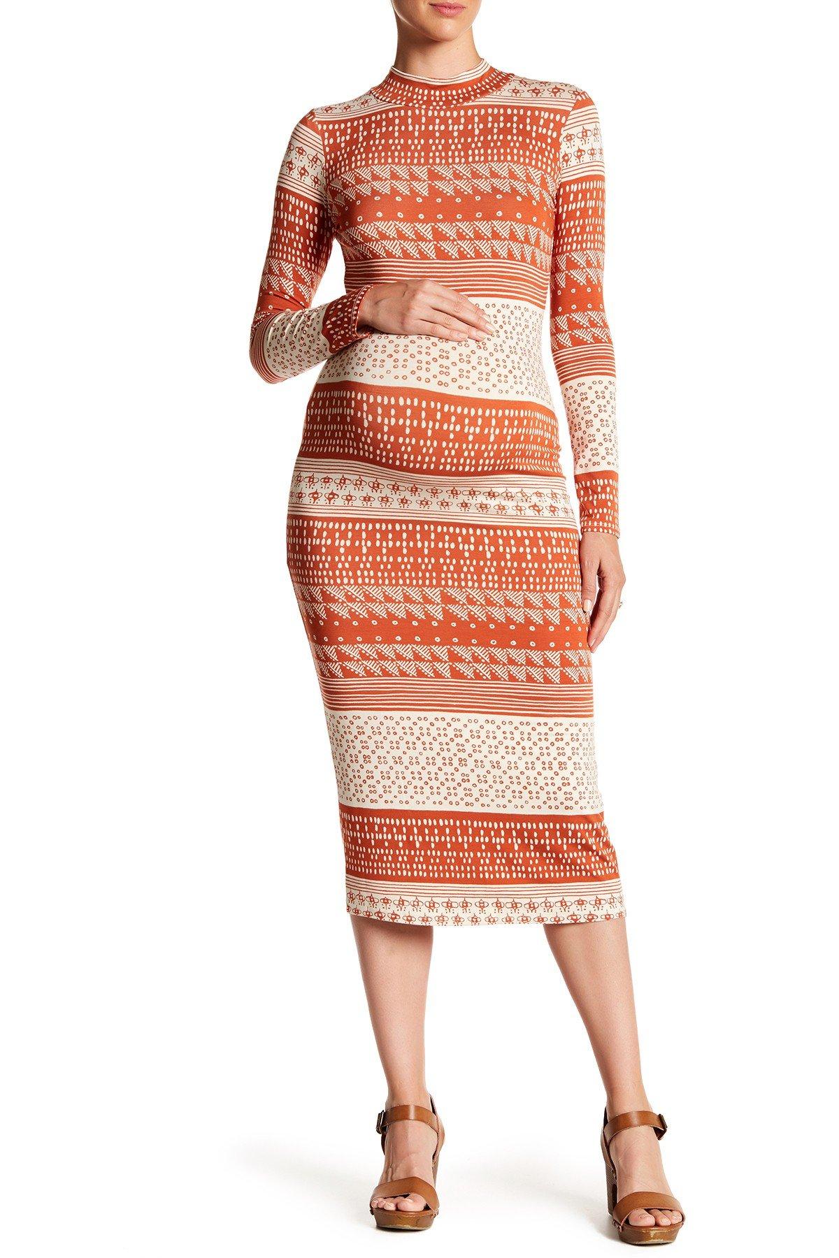 women dresses rachel pally maternity - printed stella bodycon dress (maternity) vmzhqfr