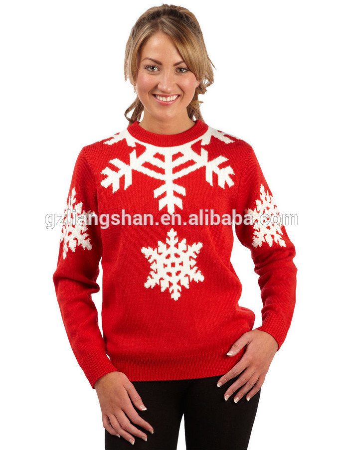 womens christmas jumpers christmas sweater wholesaler womens novelty knitted xmas jumpers sweater top ekdvvls