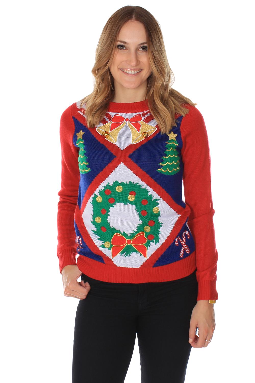 womens christmas sweaters womenu0027s bells are ringing sweater | tipsy elves jjaadxg