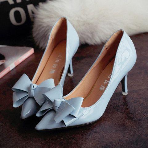 womens cool ribbon kitten heels vfceocf