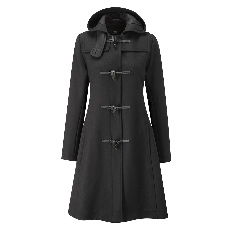 womens duffle coat womenu0027s swing duffle coat jndtdru