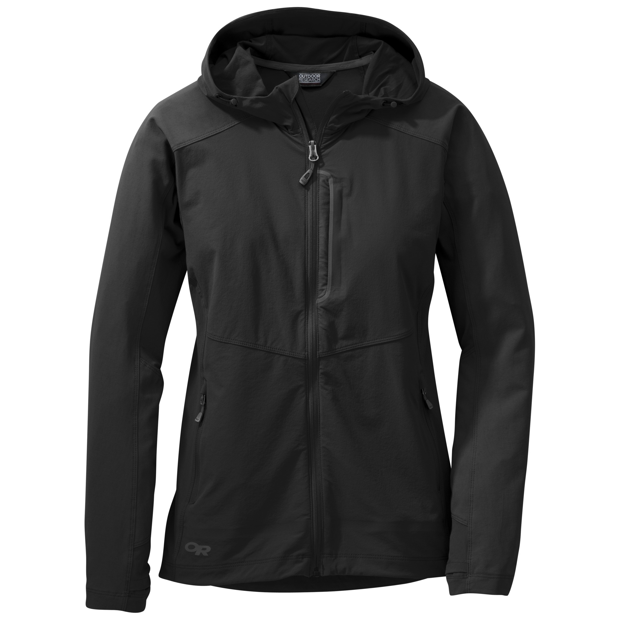 womens jacket or womenu0027s ferrosi hooded jacket black upopqqv