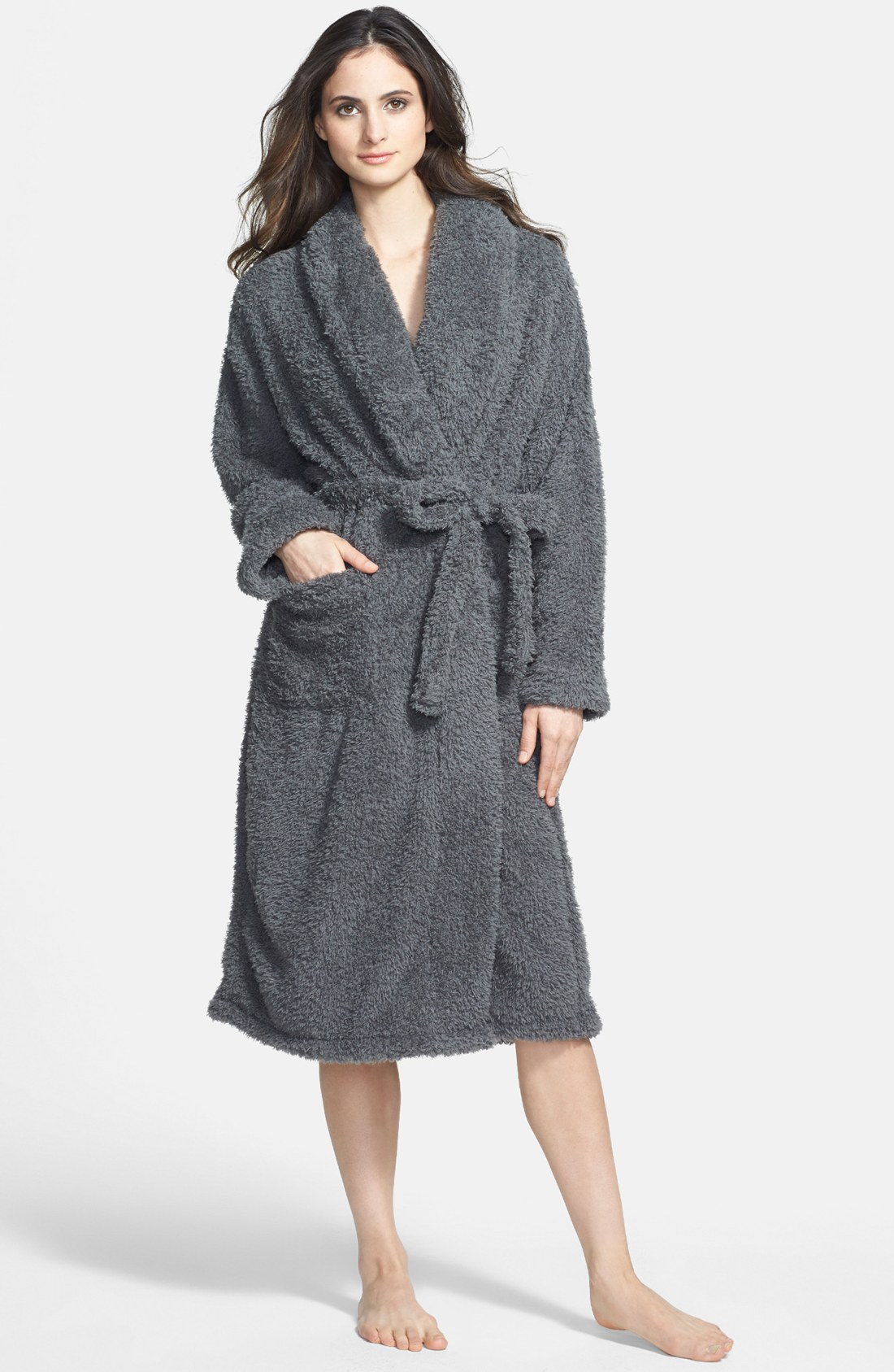 womens robes giraffe at home stretch chenille robe | nordstrom xqzdwbl
