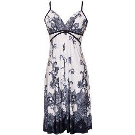 womens sundresses blue plate combo summer dress paisley goddess summer dress ... cwulxpf