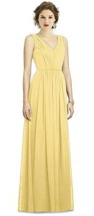 yellow bridesmaid dresses dessy bridesmaid dress 3005 mhzqfbl