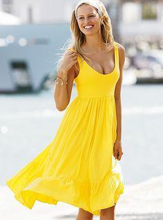 yellow sundress فساتين صيفيه 2012 بكافة الالوان ومختلف التصاميم العالمية اناقة ... yellow  sundressmy pdwplqy