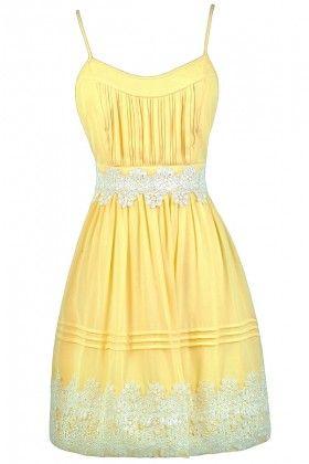 yellow sundress cute yellow dress, yellow and off white dress, yellow party dress, yellow hlnpuyv
