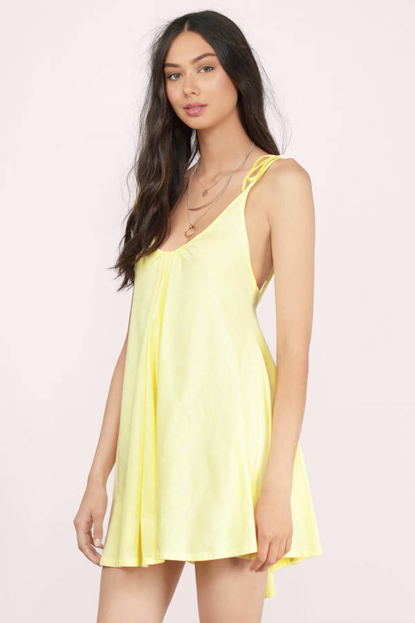 yellow sundress ... tobi yellow dresses, yellow, all in a days work shift dress, tobi thuzixi