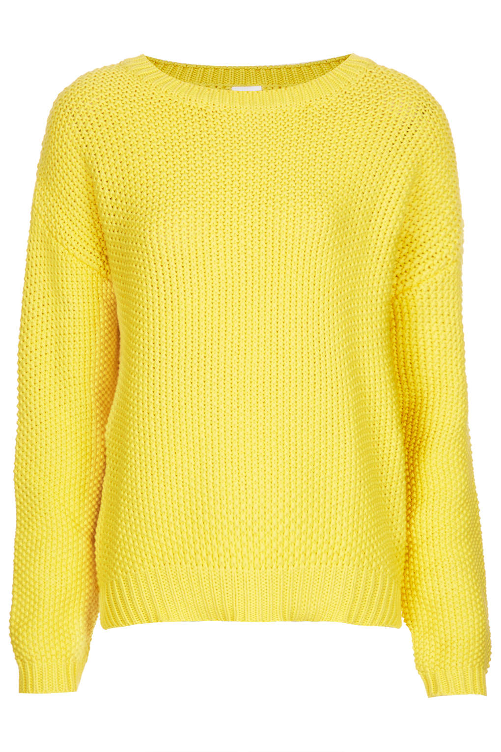 yellow sweater topshop beehive sweater nvuvavx